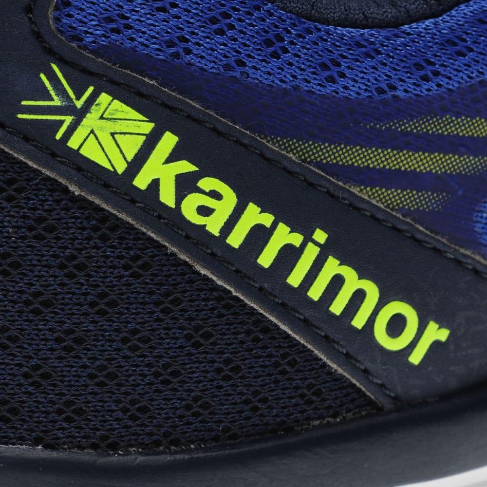 KARRIMOR Men's Tempo 5 Running Shoes - NAVY/LIME