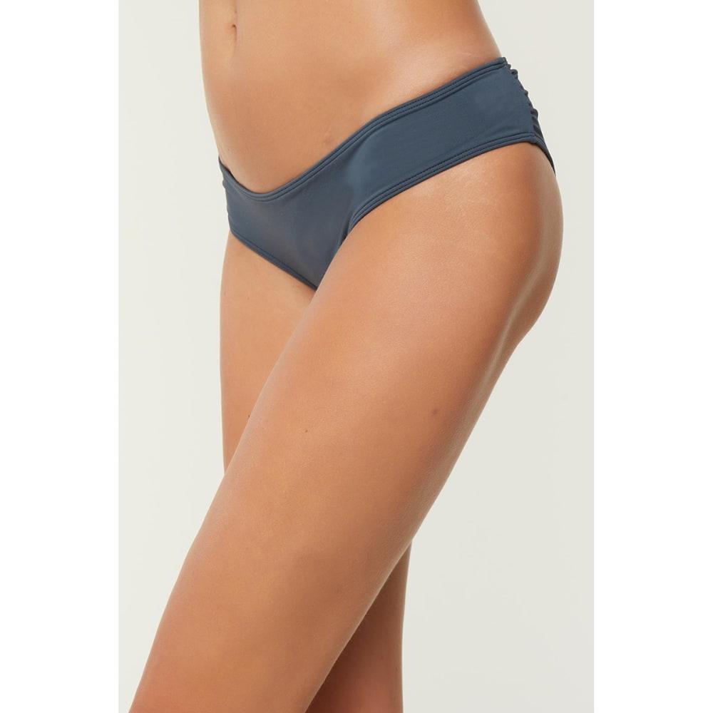 O'NEILL Women's Salt Water Hipster Bikini Bottoms - DEEP BLUE