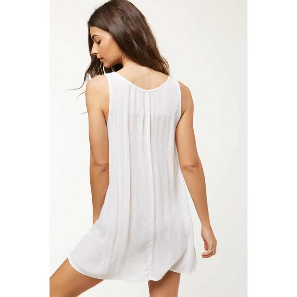 O'NEILL Saltwater Solids Tank Dress - WHITE
