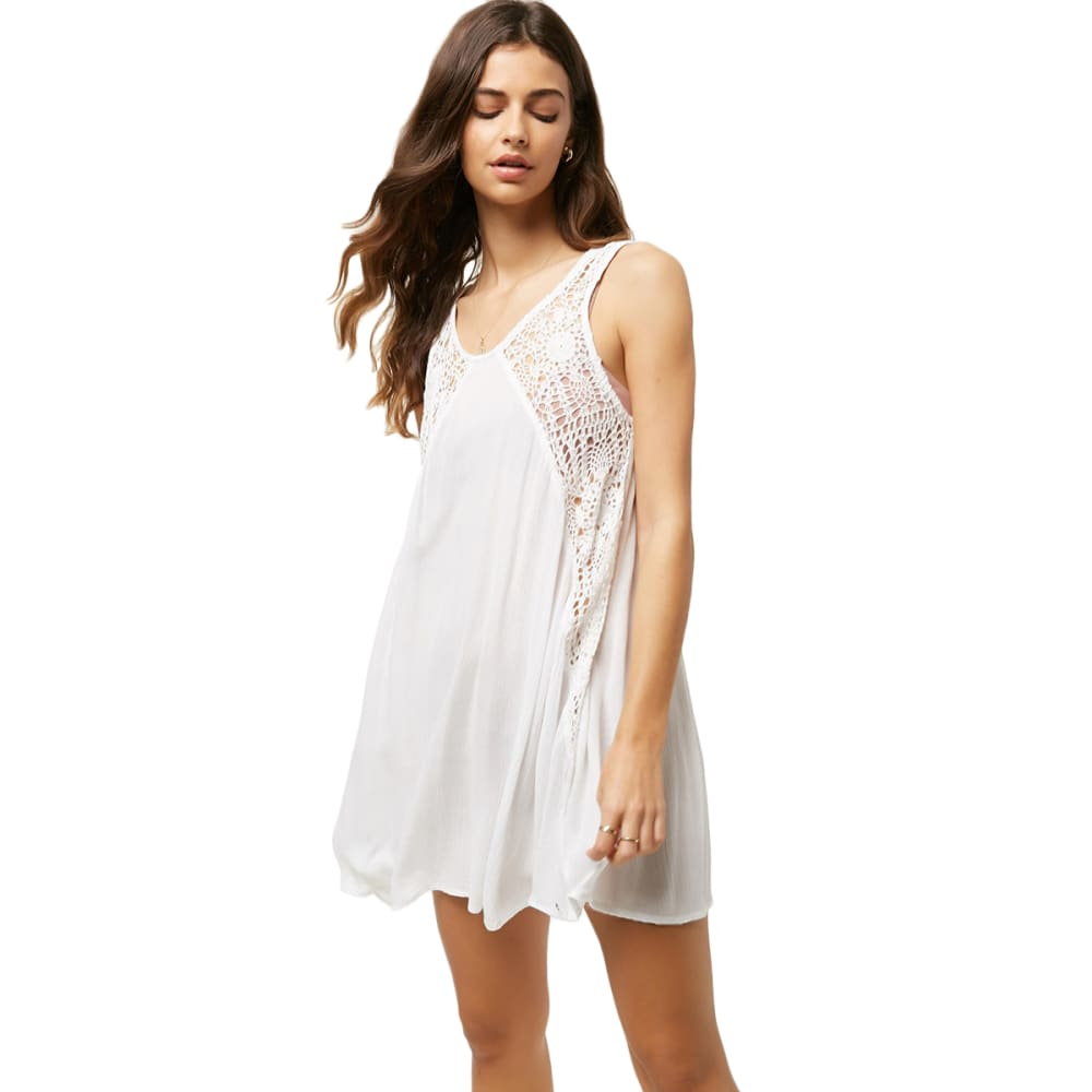 O'NEILL Saltwater Solids Tank Dress - WHITE