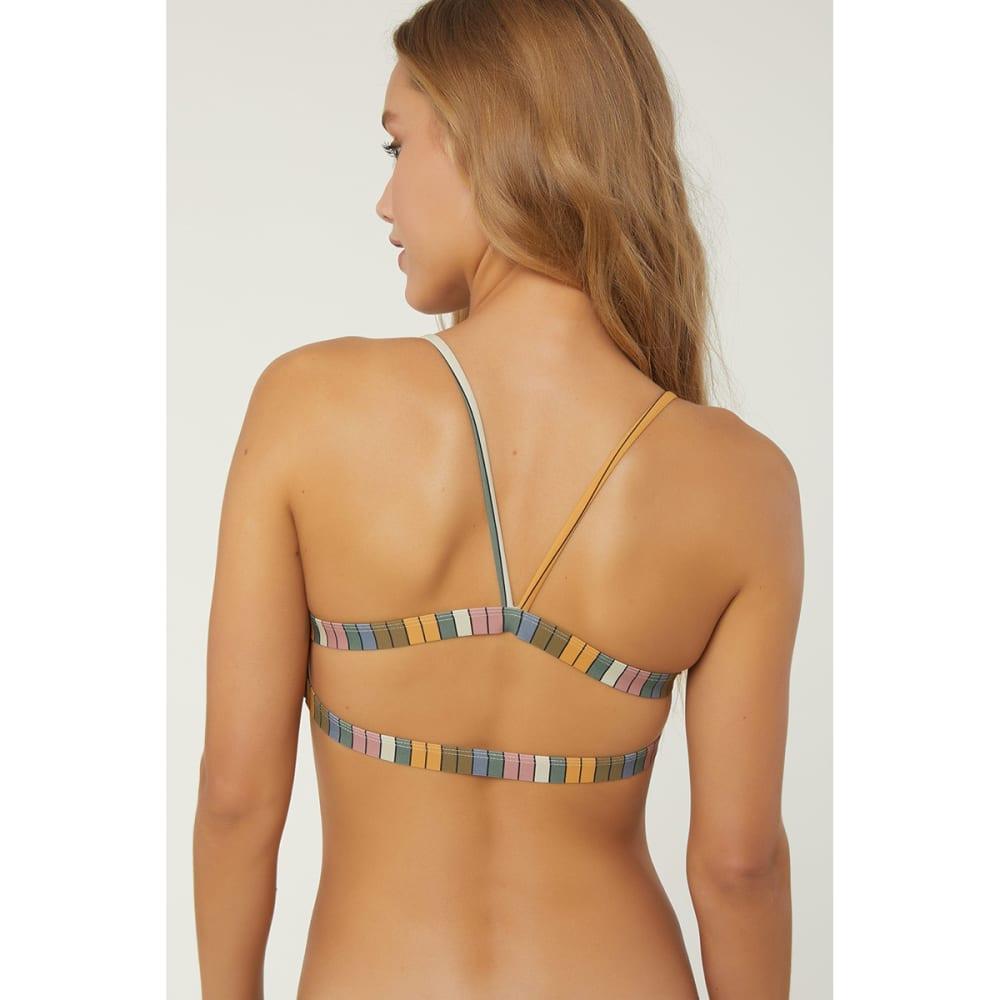 O'NEILL Juniors' Lora Tri-Top Bikini - STRIPES