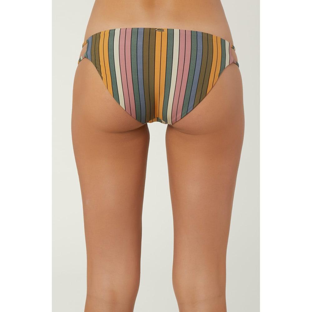 O'NEILL Juniors' Lora Trip Bikini Bottom - STRIPES