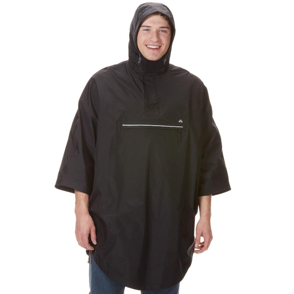 EMS Unisex Thunderhead Rain Poncho - BLACK