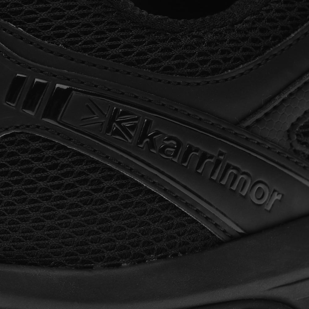 KARRIMOR Men's Caracal Trail Running Shoes - BLACK/BLACK