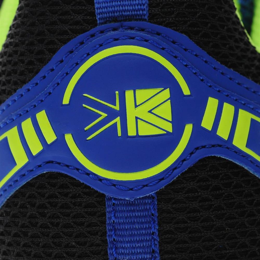 KARRIMOR Men's Caracal Trail Running Shoes - BLUE/GREEN