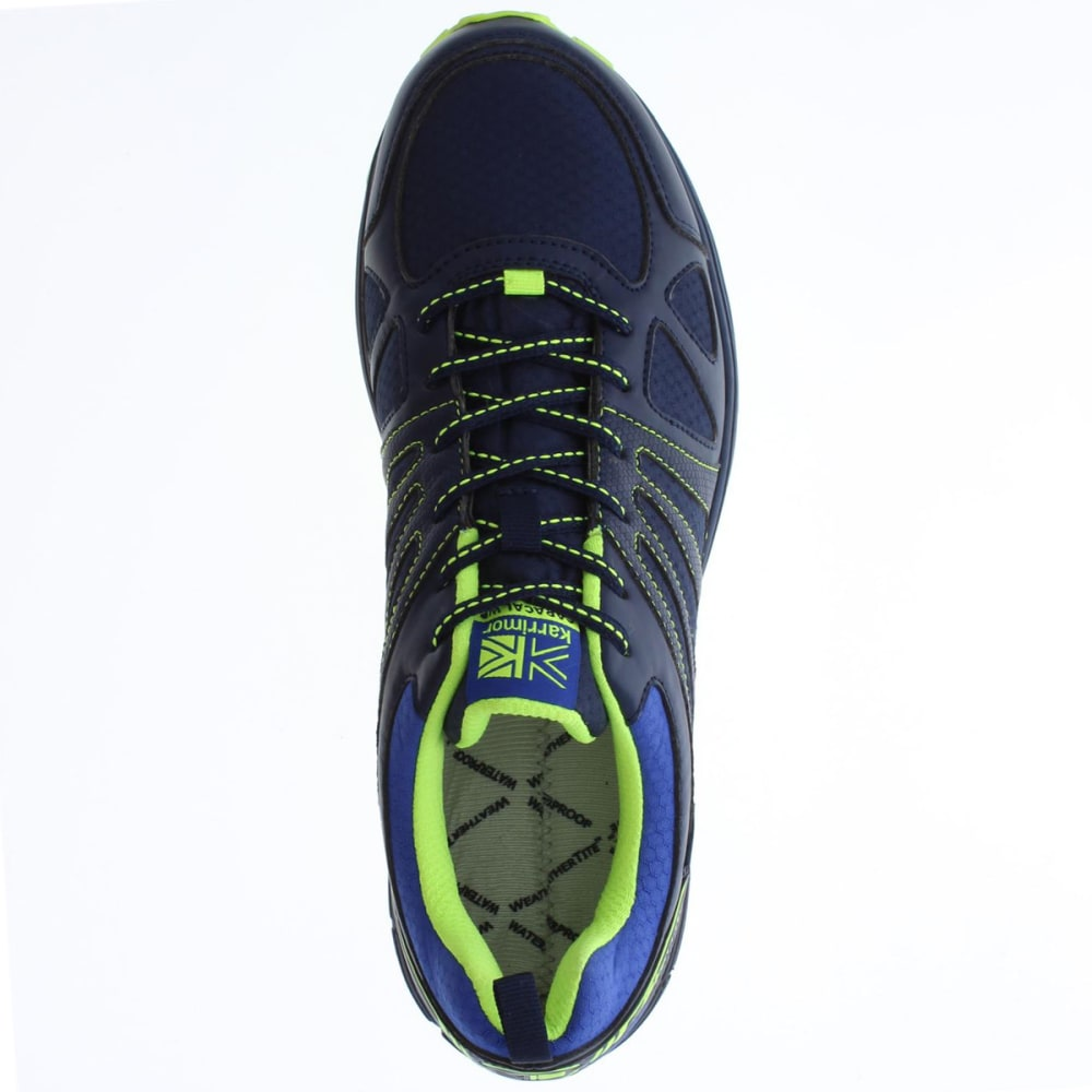 KARRIMOR Men's Caracal Waterproof Trail Running Shoes - NAVY/BLUE