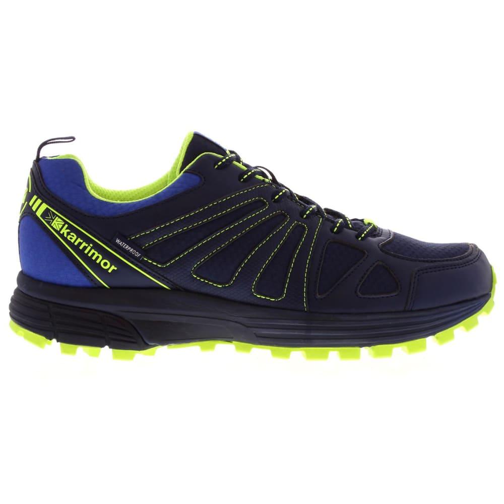 KARRIMOR Men's Caracal Waterproof Trail Running Shoes - NAVY/BLUE