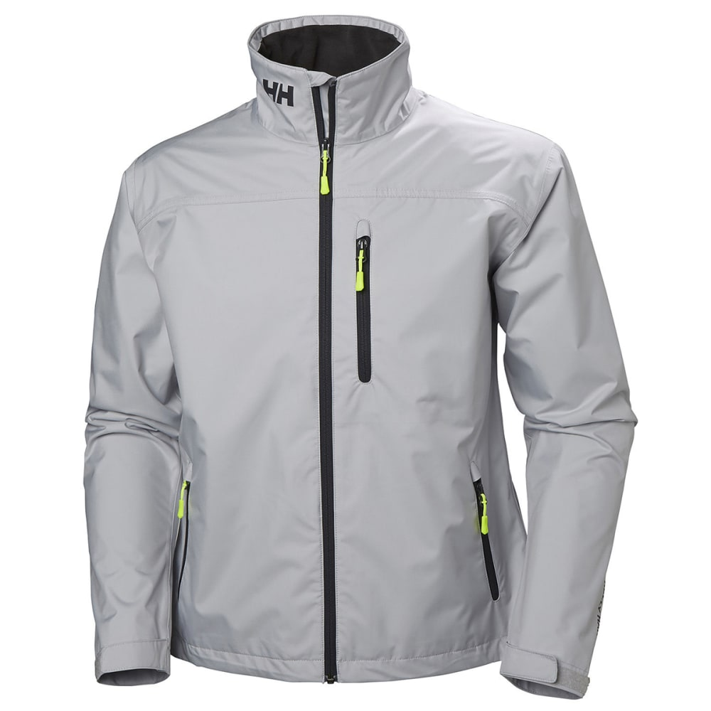 HELLY HANSEN Men's Crew Jacket - 853 GREY FOG