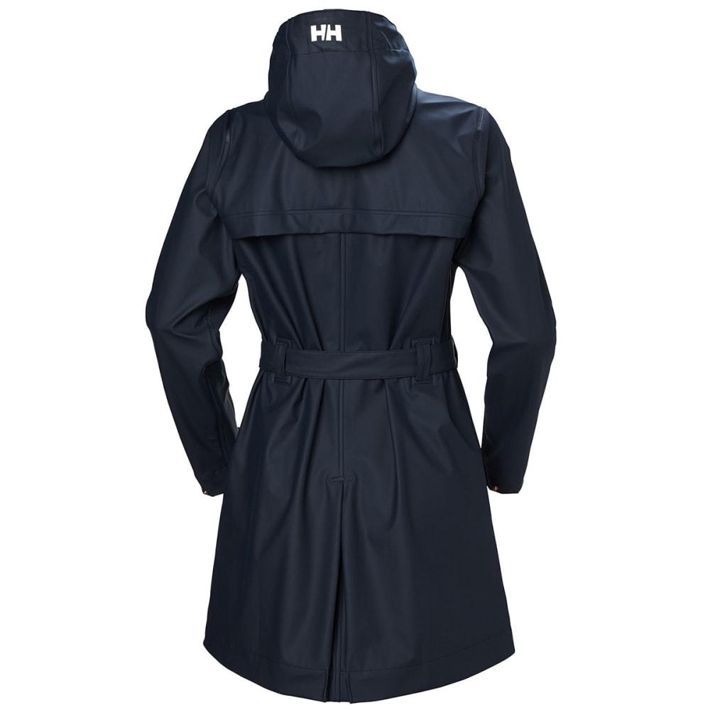 HELLY HANSEN Women's Kirkwall 11 Raincoat - 597 NAVY