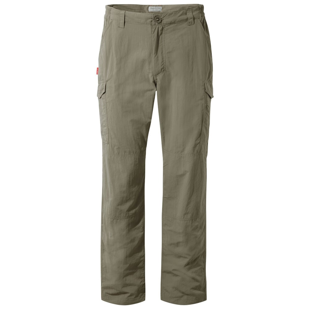 CRAGHOPPERS Men's NosiLife Cargo Pants - 62 A PEBBLE
