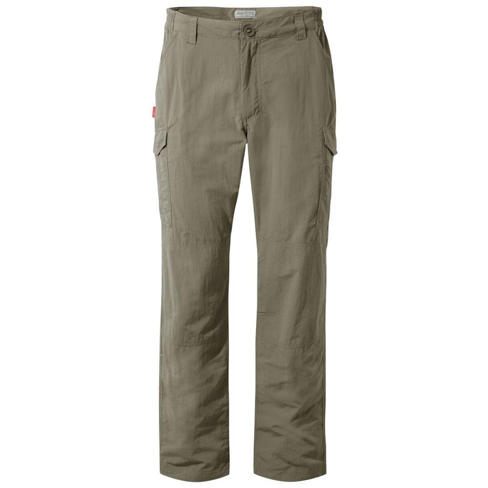 CRAGHOPPERS Men's NosiLife Cargo Pants - 62 A PEBBLE