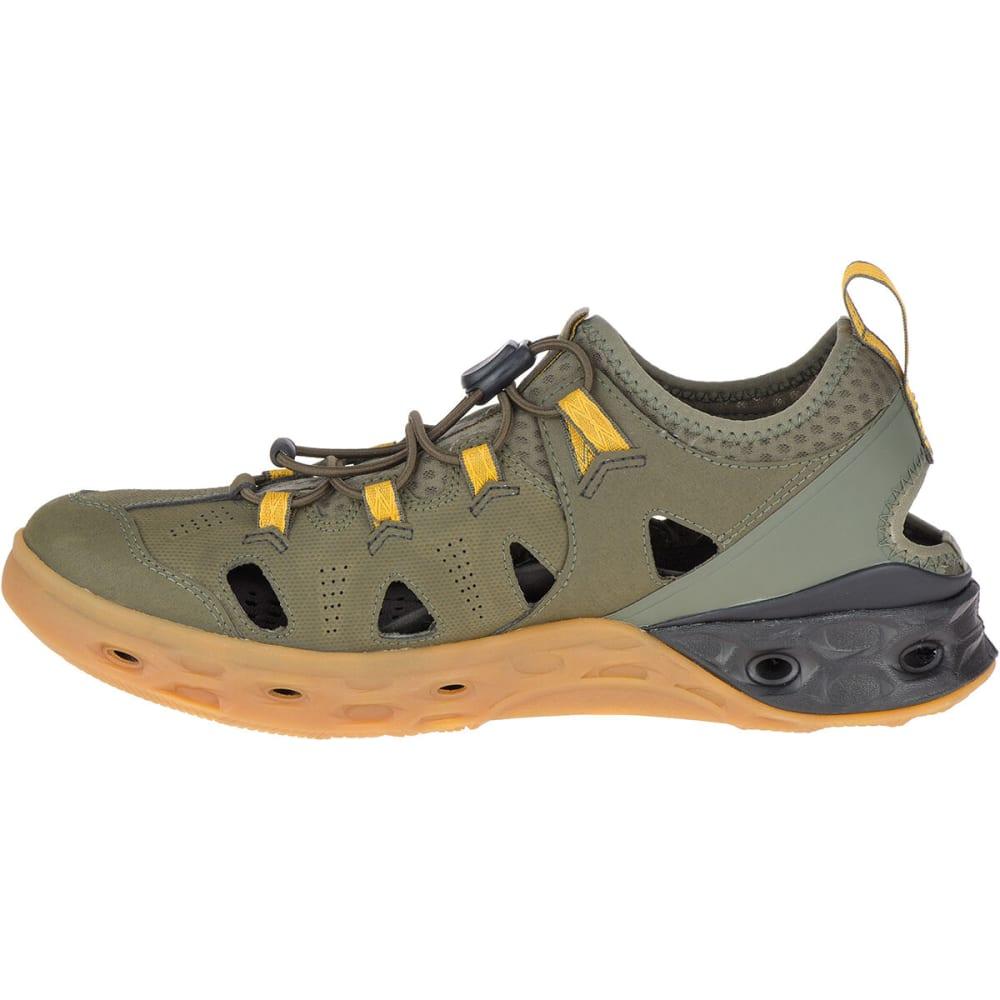 MERRELL Men's Tideriser Sieve Boat Shoe - OLIVE GREEN