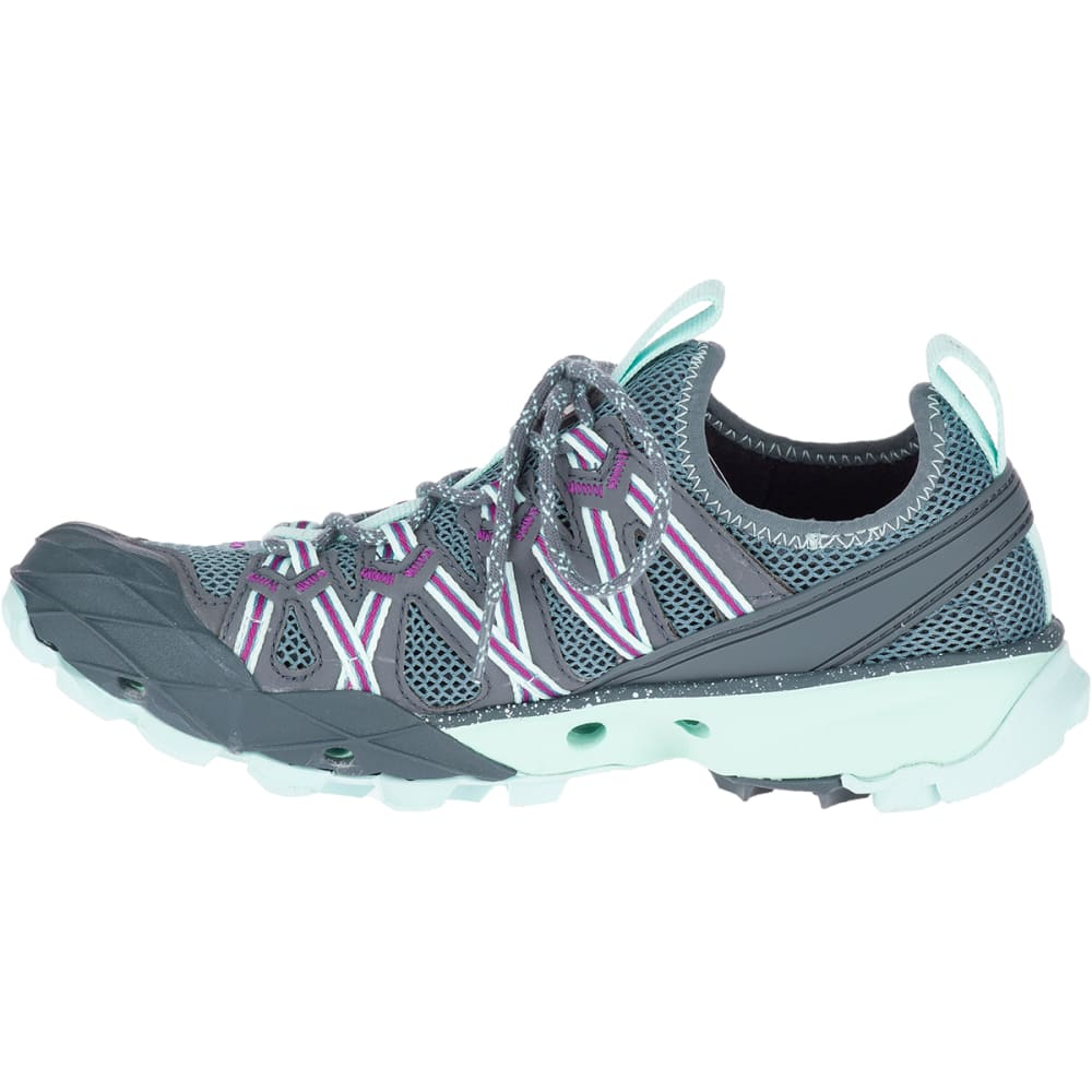 MERRELL Women's Choprock Hydro Hiking Shoe - BLUE SMOKE J49084