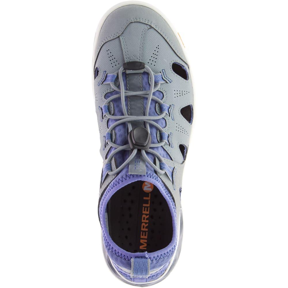 MERRELL Women's Tideriser Sieve Shoes - MONUMENT