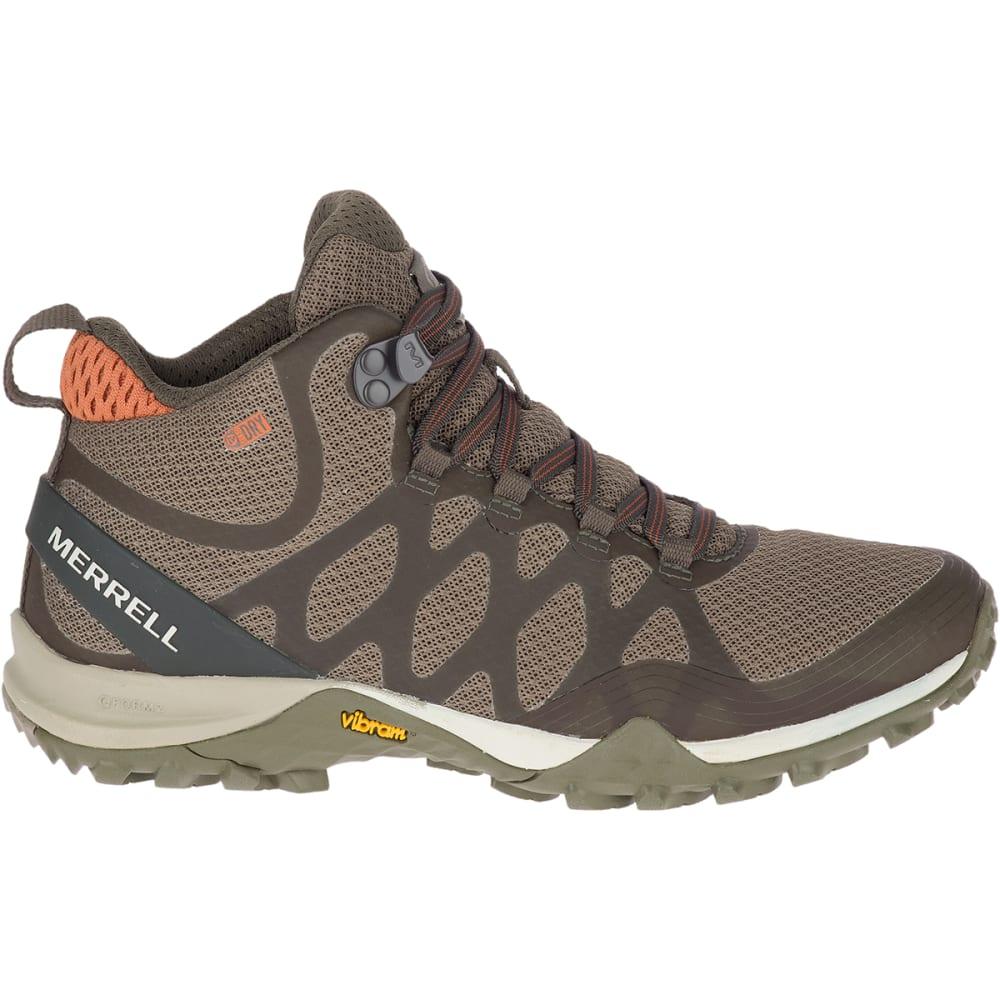 MERRELL Women's Siren 3 Mid Waterproof Hiking Shoes - OLIVE