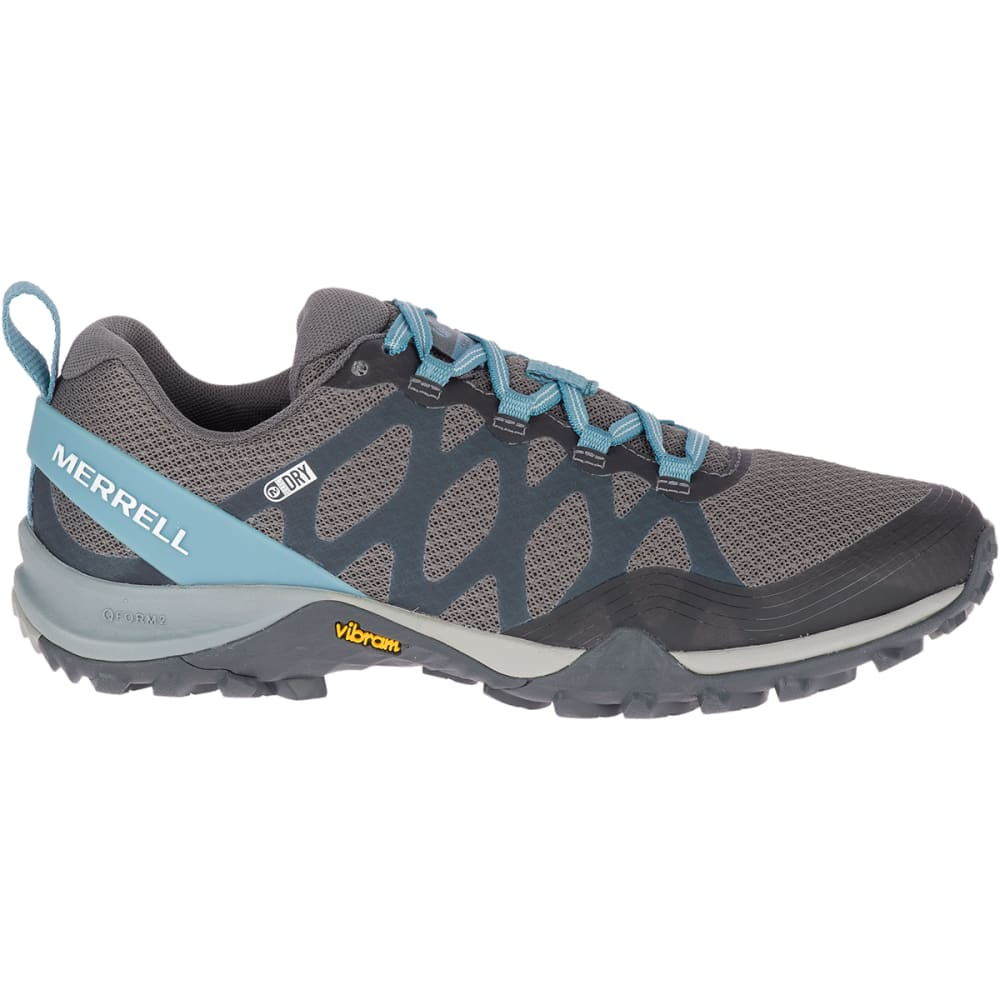 MERRELL Women's Siren 3 Waterproof Low Hiking Shoes - BLUE SMOKE