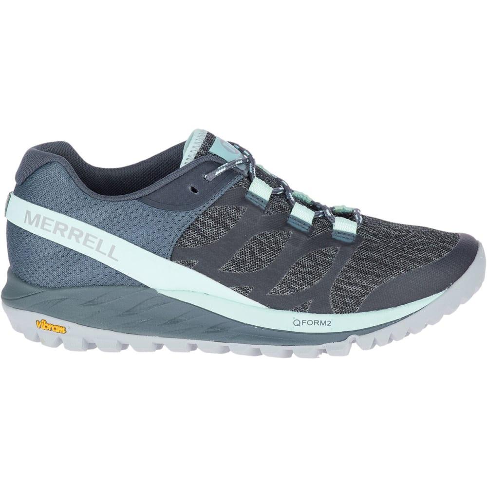 MERRELL Women's Antora Trail Running Shoes - TURBULENCE
