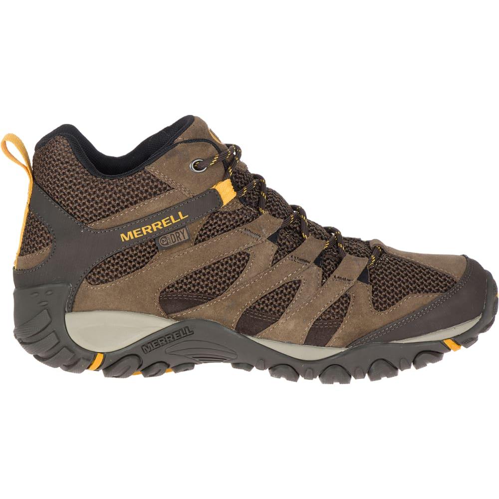 MERRELL Men's Alverstone Mid Waterproof Hiking Boot - MERRELL STONE