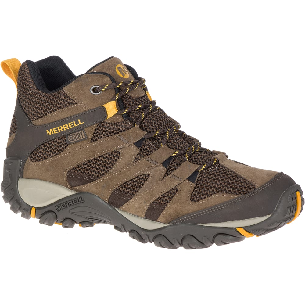 MERRELL Men's Alverstone Mid Waterproof Hiking Boot - MERRELL STONE