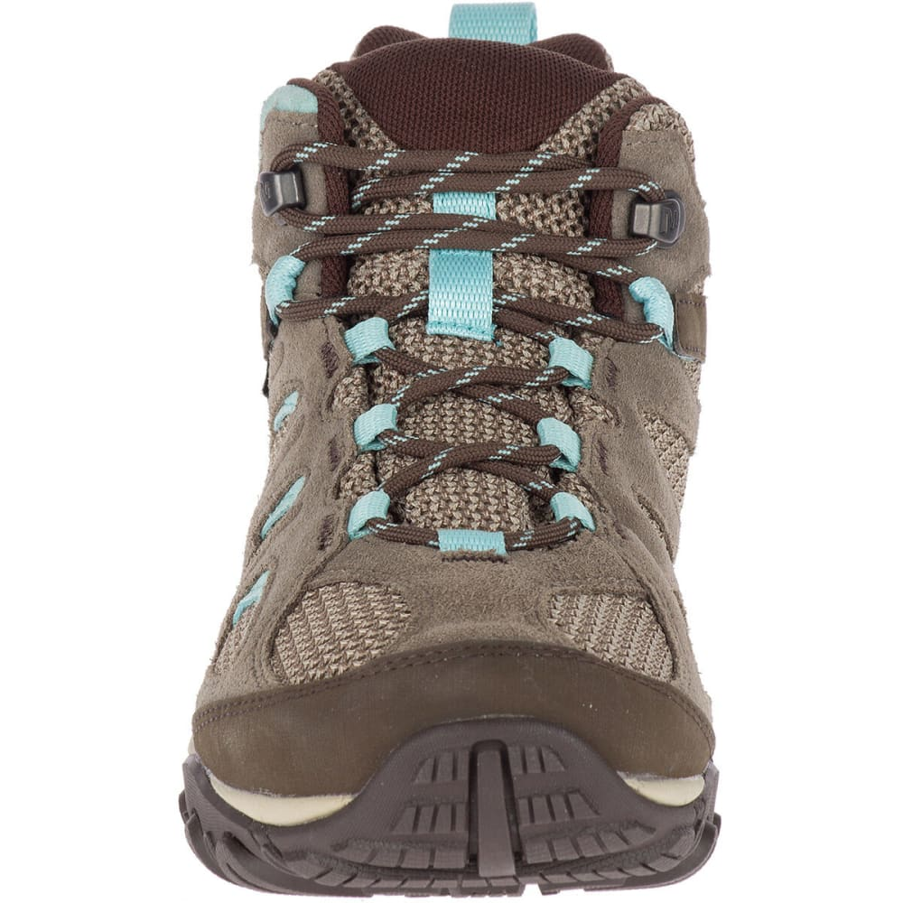 MERRELL Women's Yokota 2 Mid Waterproof Hiking Boot - BOULDER