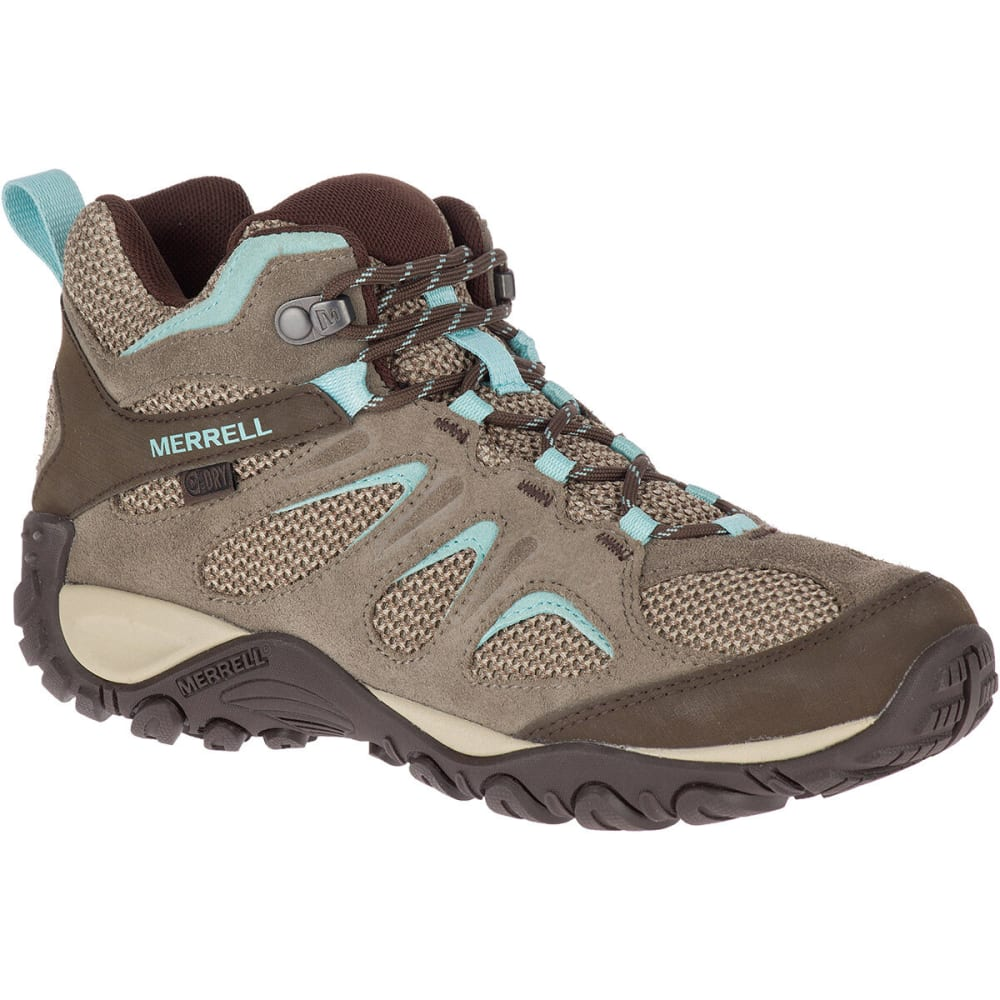 MERRELL Women's Yokota 2 Mid Waterproof Hiking Boot 7.5
