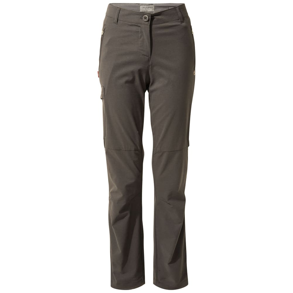 CRAGHOPPERS Women's NosiLife Pro Trouser Pants - 821 CHARCOAL