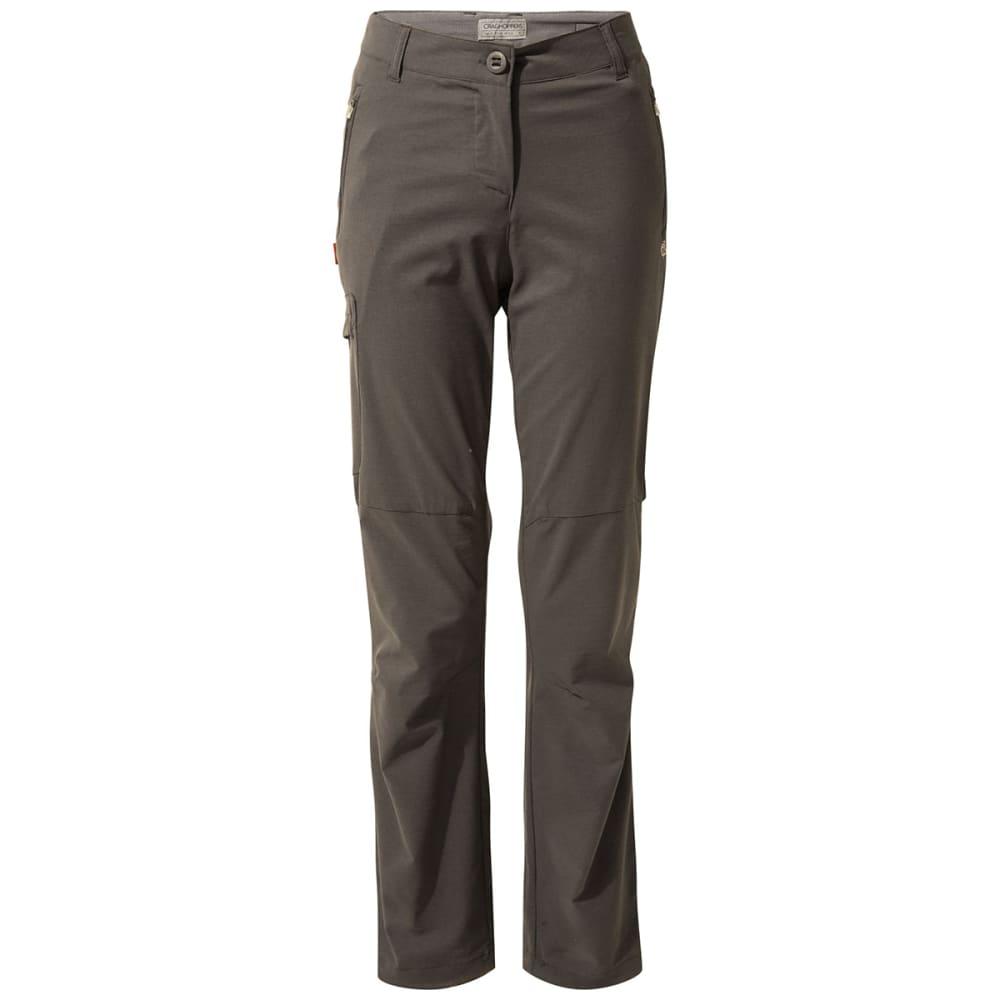 CRAGHOPPERS Women's NosiLife Pro Trouser Pants - 821 CHARCOAL