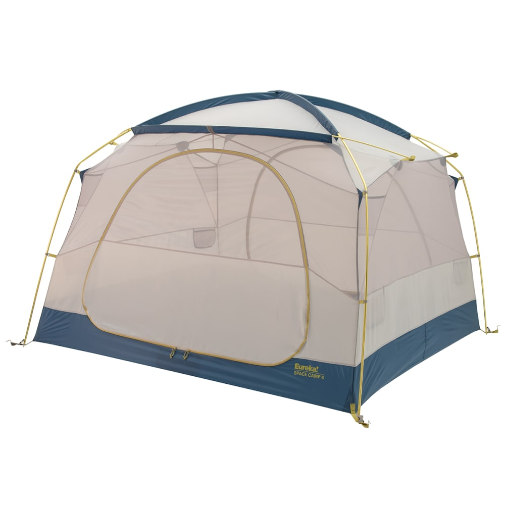 EUREKA Space Camp 4 Person Tent - GREY/BLUE