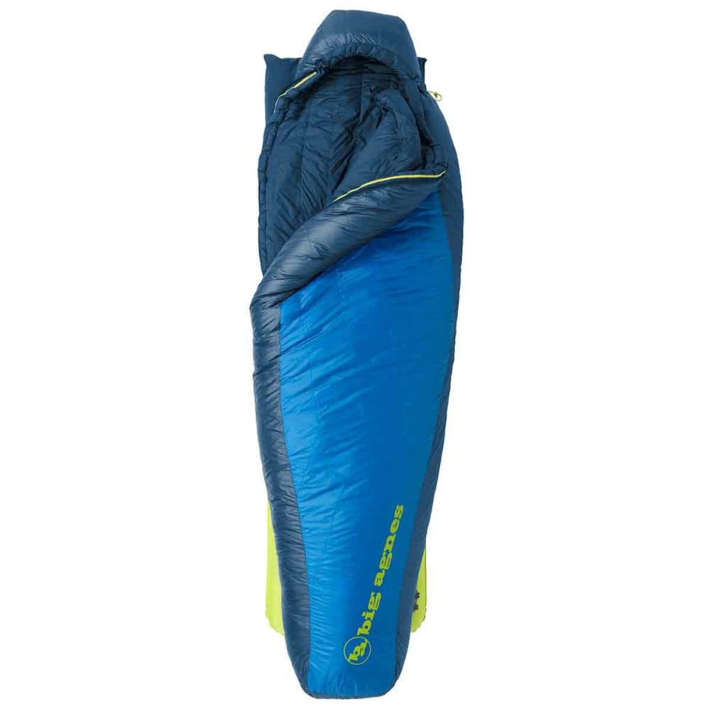 BIG AGNES Wiley SL 30 Degree Sleeping Bag, Long - NO COLOR