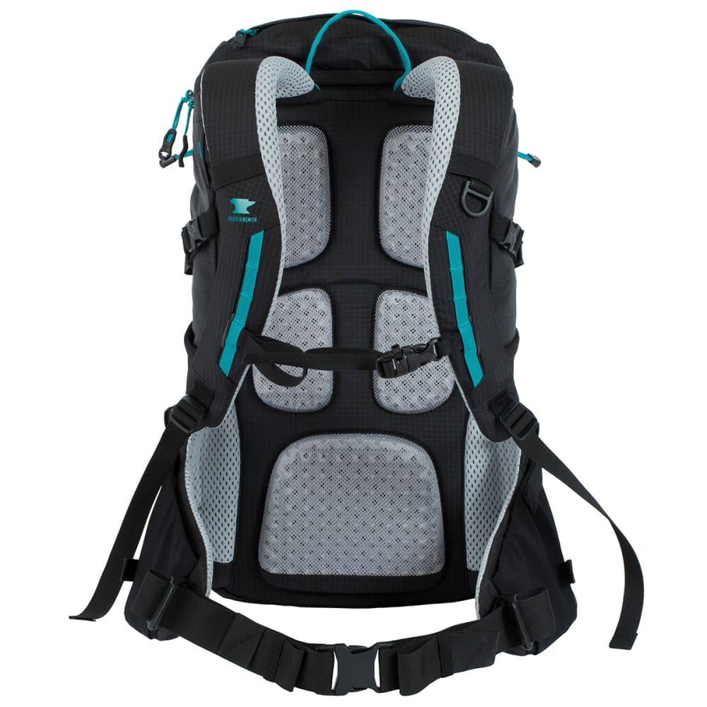 MOUNTAINSMITH Women's Mayhem 30 WSD Pack - BLACK/TURQUOISE