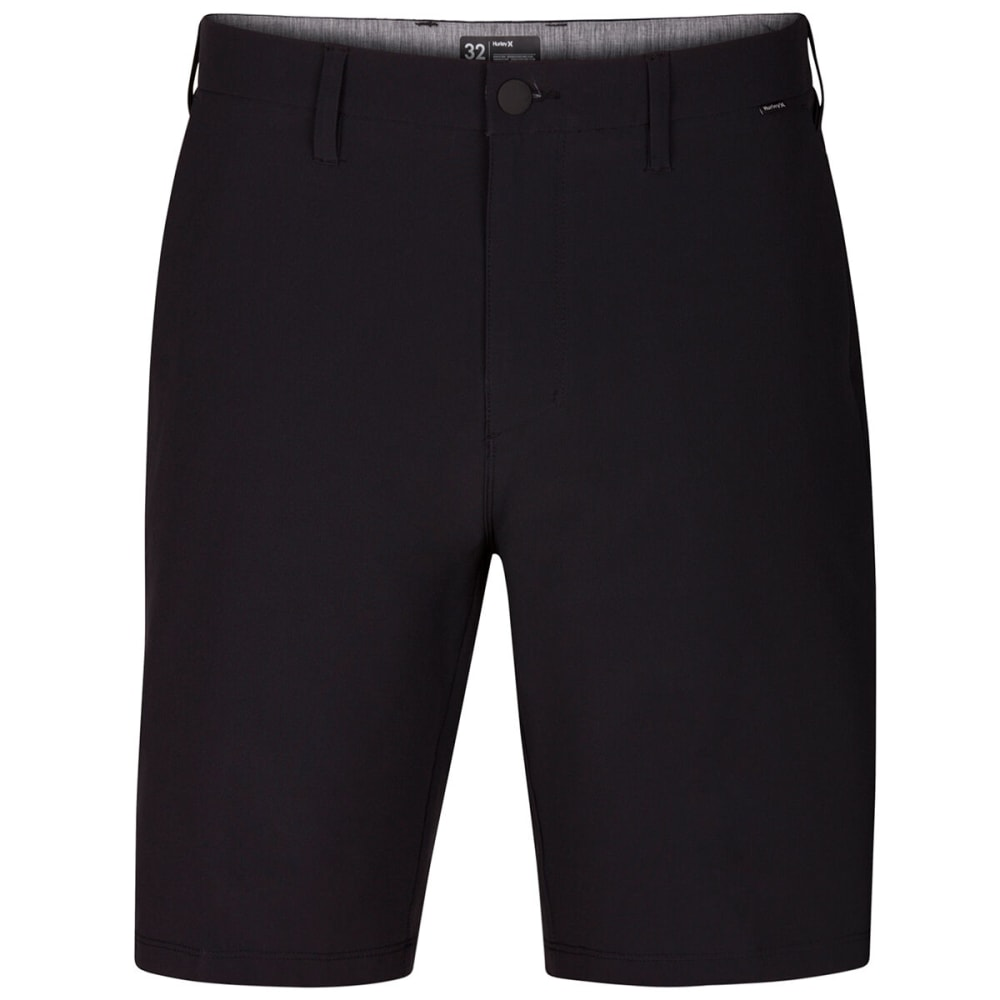 HURLEY Men's Phantom Flex Hybrid Walking Shorts - 010 BLACK