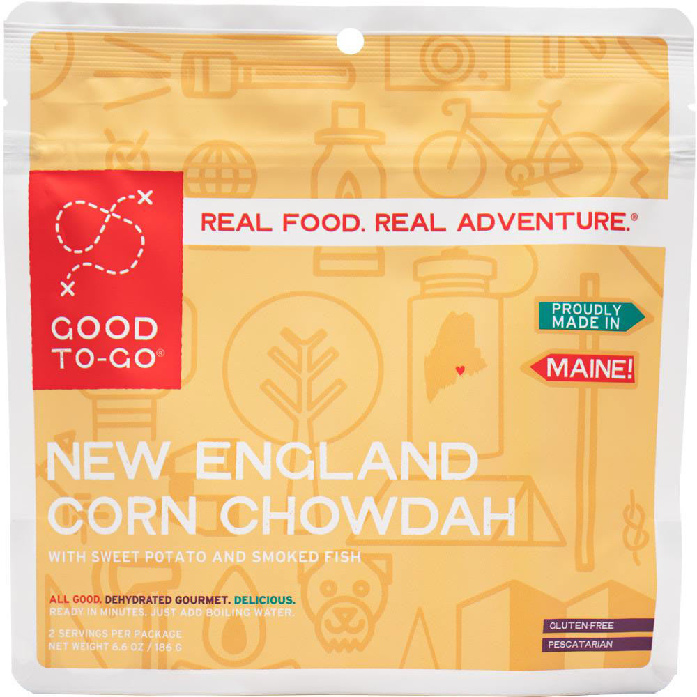 GOOD TO-GO New England Corn Chowdah, Double Serving - NO COLOR