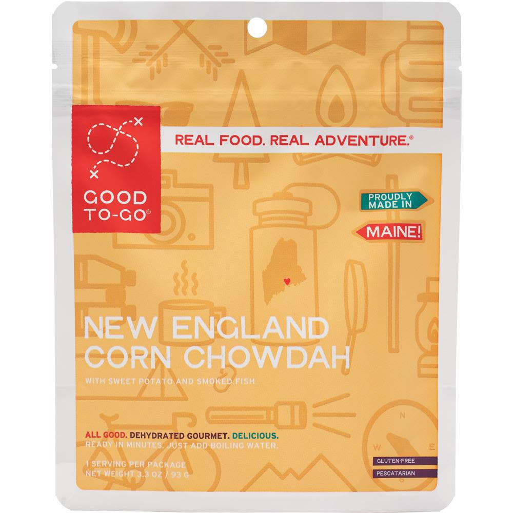 GOOD TO-GO New England Corn Chowdah, Single Serving - NO COLOR