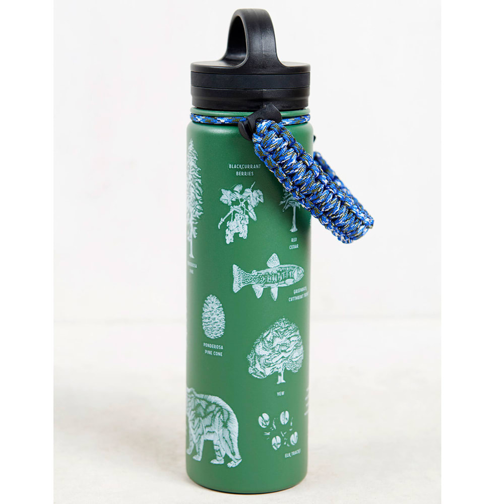 UNITED BY BLUE 22 oz. Stainless Steel Water Bottle - GREEN