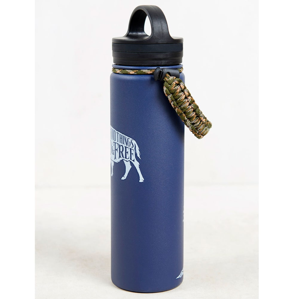 UNITED BY BLUE 22 oz. Stainless Steel Water Bottle - NAVY
