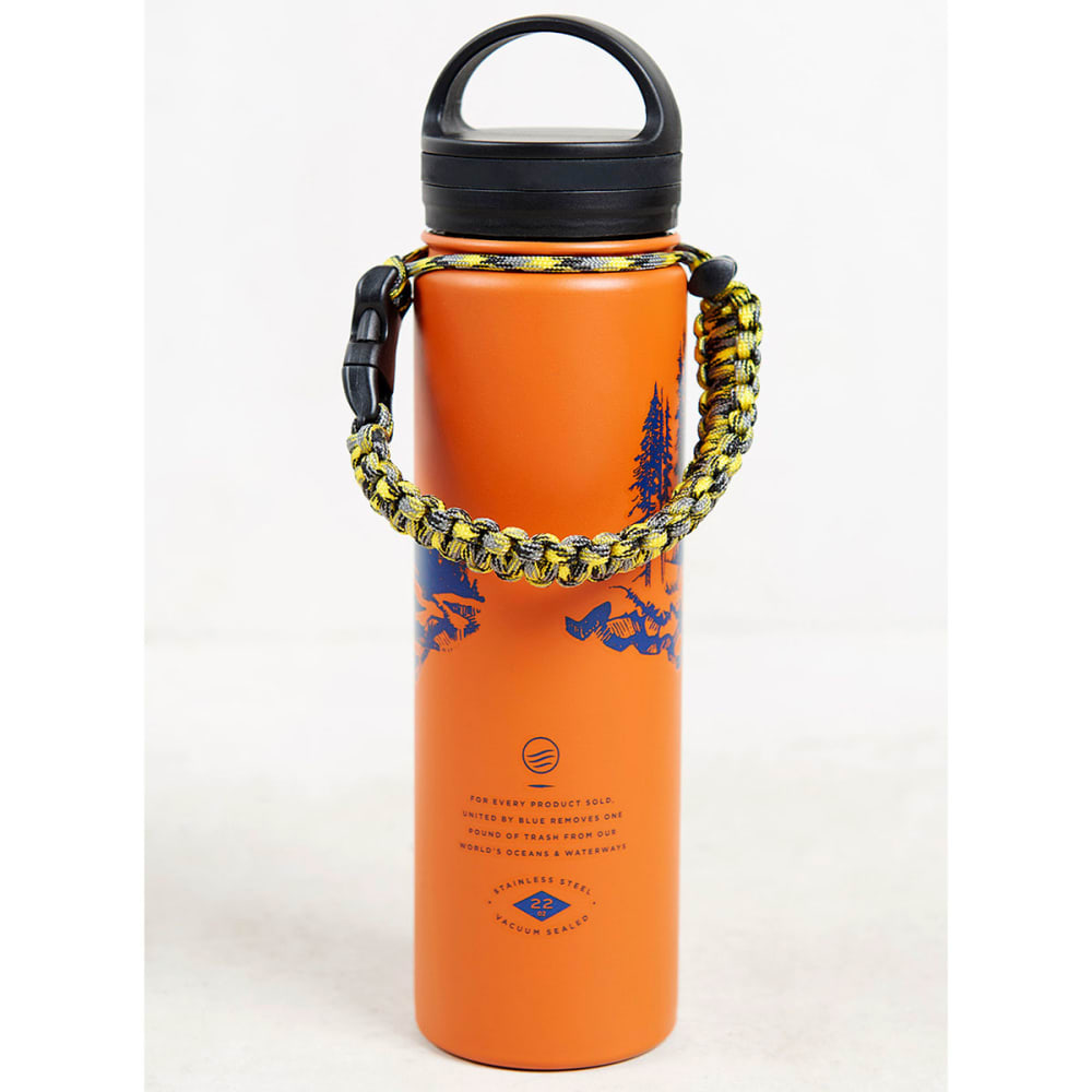 UNITED BY BLUE 22 oz. Stainless Steel Water Bottle - ORANGE