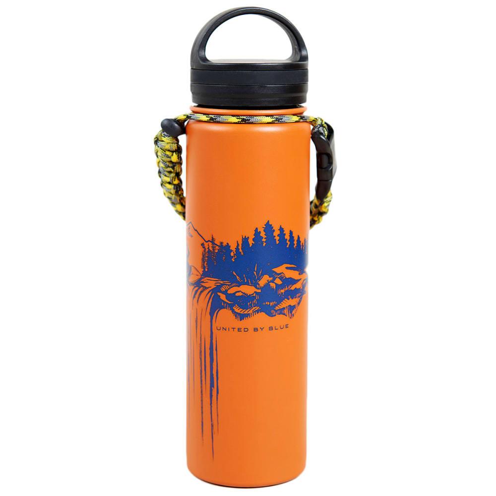 UNITED BY BLUE 22 oz. Stainless Steel Water Bottle - ORANGE