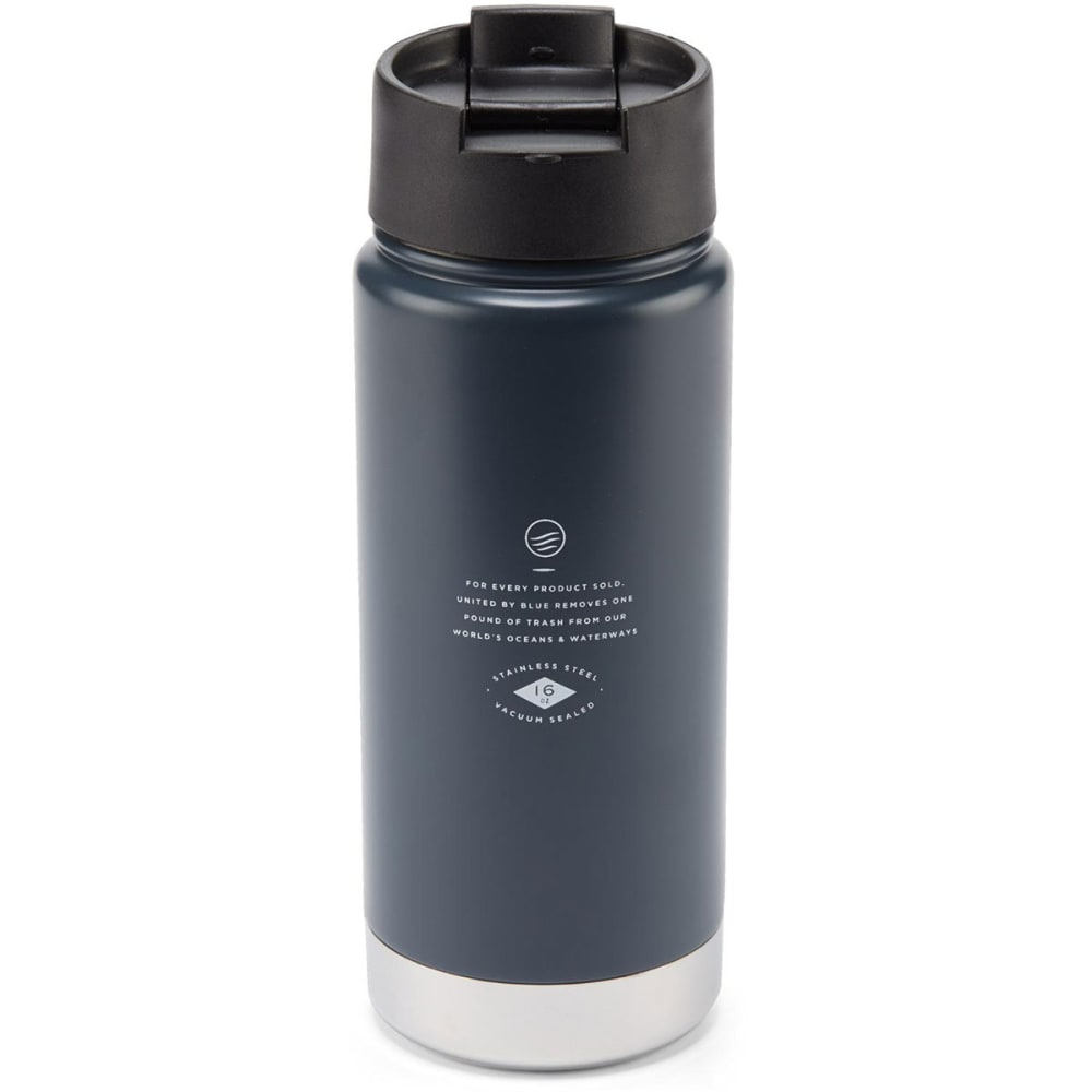 UNITED BY BLUE 16 oz. Travel Mug - CHARCOAL