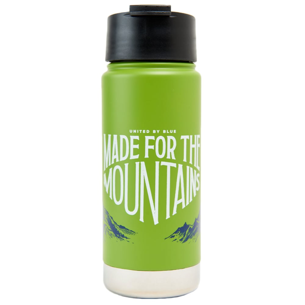 UNITED BY BLUE 16 oz. Travel Mug - GREEN