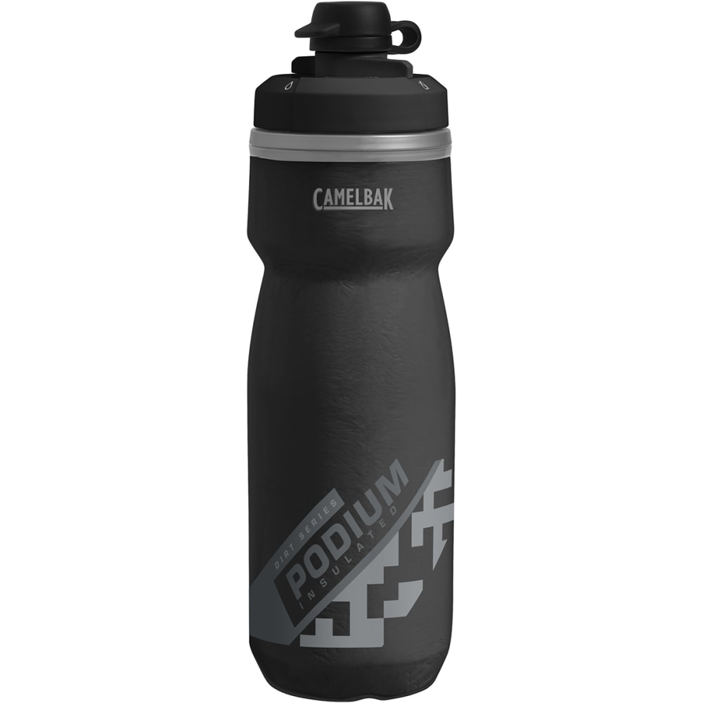 CAMELBAK Podium Dirt Chill 21oz. Water Bottle - BLACK