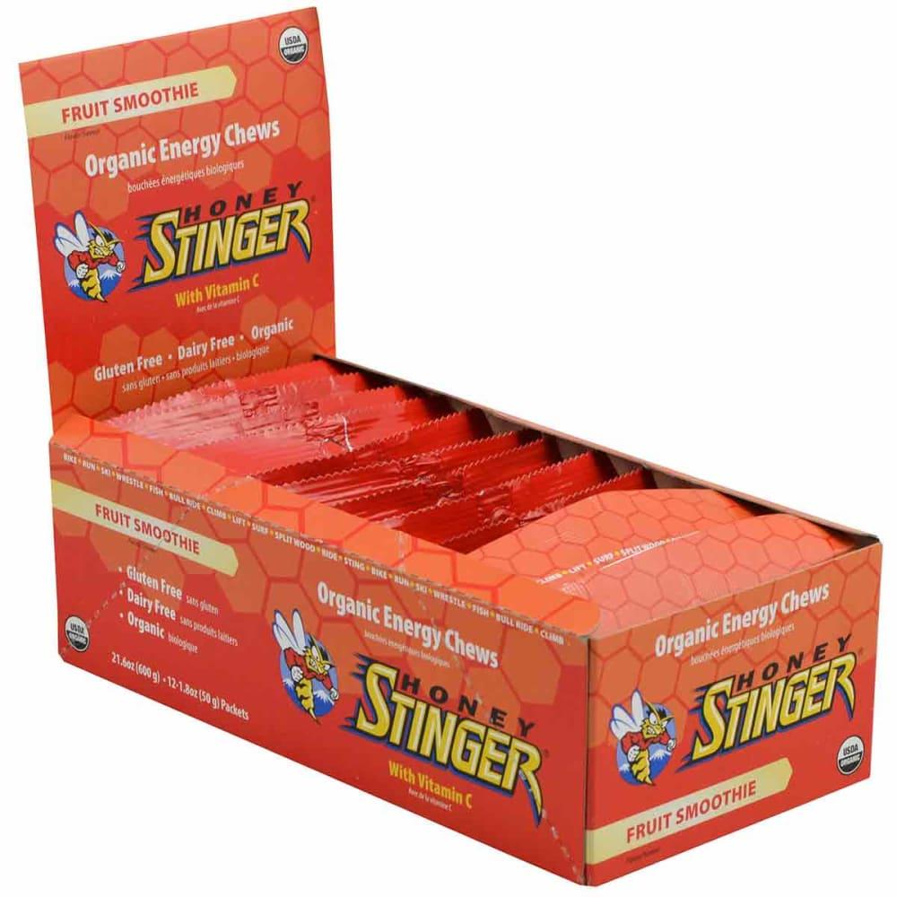 HONEY STINGER Organic Energy Chews, 12-Pack - FRUIT SMOOTHIE