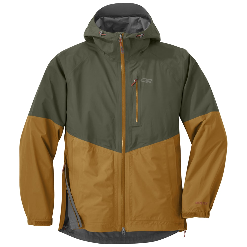 OUTDOOR RESEARCH Men's Foray Jacket - JUNIPER/CURRY