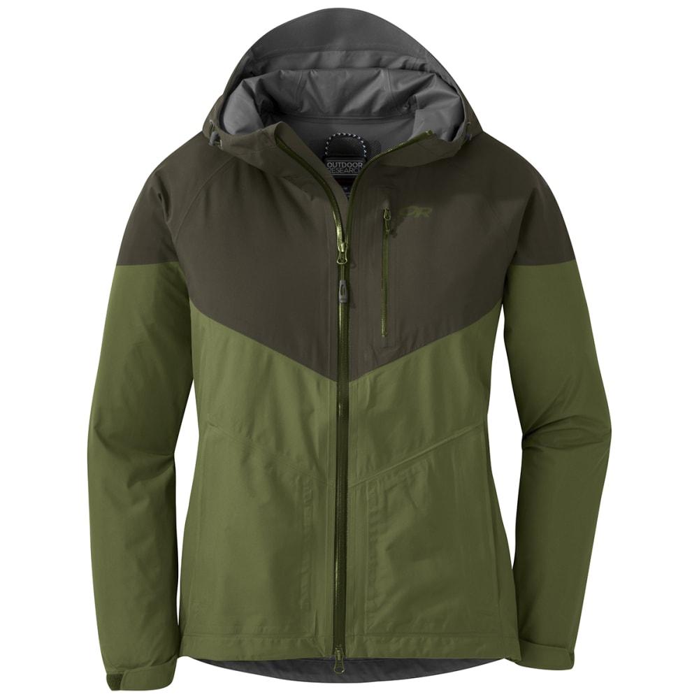 OUTDOOR RESEARCH Women's Aspire Jacket - 1466 SEAWEED JUNIPER