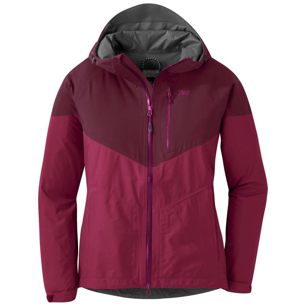 OUTDOOR RESEARCH Women's Aspire Jacket - 1464 SANGRIA GARNET