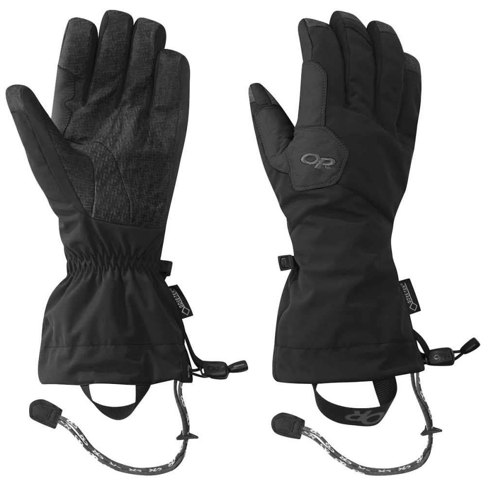 OUTDOOR RESEARCH Unisex Vitaly Gloves - BLACK