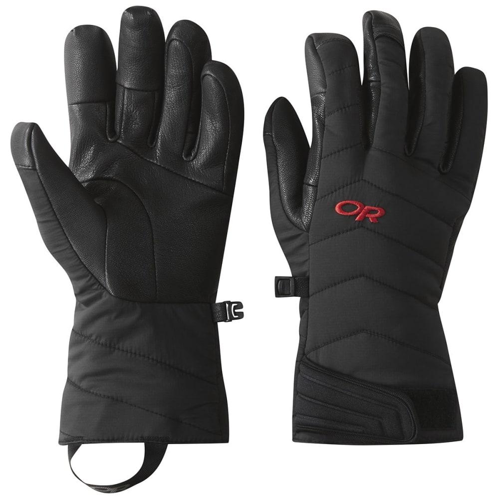 OUTDOOR RESEARCH Ascendant Sensor Gloves - BLACK/TOMATO