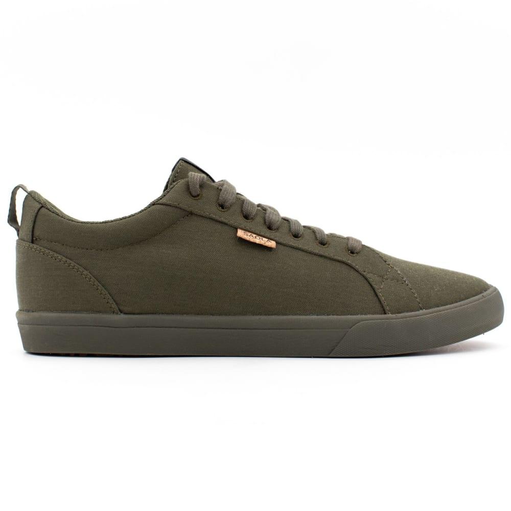 SAOLA Men's Cannon Canvas Lace Up Shoes - 816-DK OLIVE