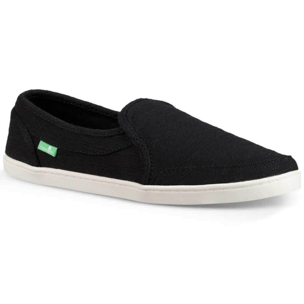 SANUK Women's Pair O Dice Hemp Shoes 6