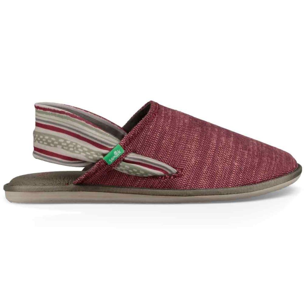 SANUK Women's Yoga Sling Slip On Shoes - KRRD-KEYS RANCH RED