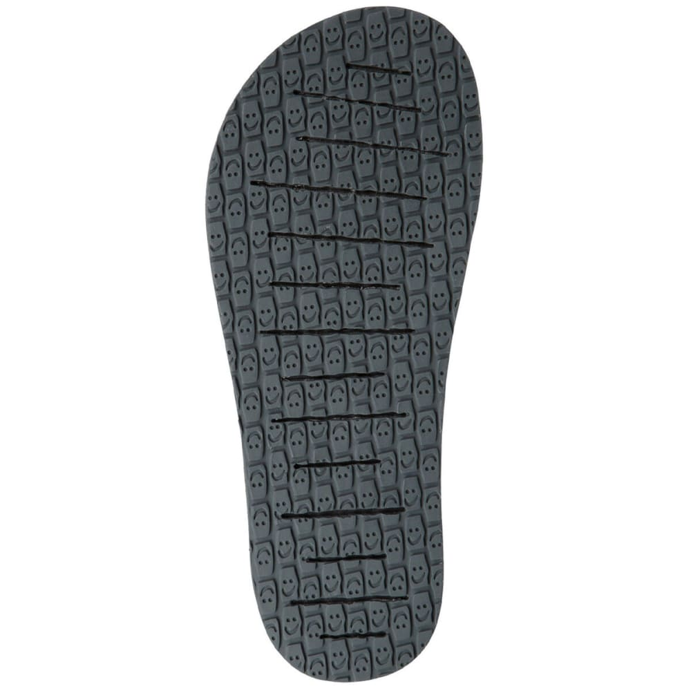 SANUK Men's Beer Cozy 3 Sandals - BLK-BLACK